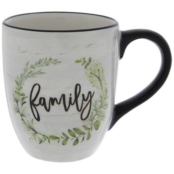 Family Herbal Wreath Mug