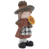 Scarecrow With Sunflower