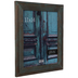 Turquoise Wash Wood Wall Frame - 11