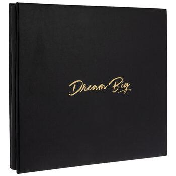 """Dream Big Post Bound Scrapbook Album - 12"""" x 12"""""""
