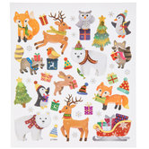 Christmas Animals Stickers