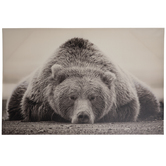 Bear Canvas Wall Decor