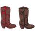 Cowboy Boot Shank Buttons