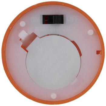 Burnt Orange LED Flickering Votive Candles