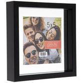 "Black Float Frame - 5"" x 5"""