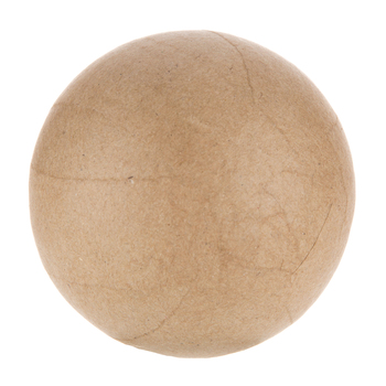 "Paper Mache Sphere - 3 1/2"""