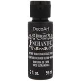 Black Base Coat Americana Enchanted Acrylic Paint