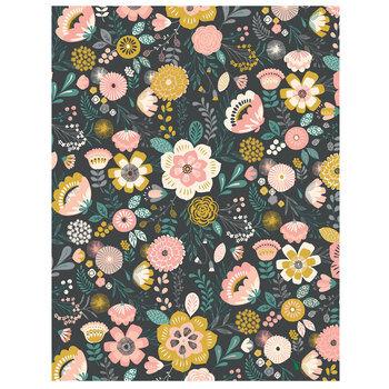 "Hello Darling Floral Scrapbook Paper - 8 1/2"" x 11"""