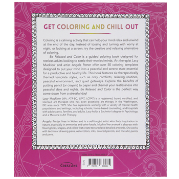 Be Relaxed & Color Coloring Book