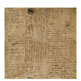 "French Kiss Script Scrapbook Paper - 12"" x 12"""
