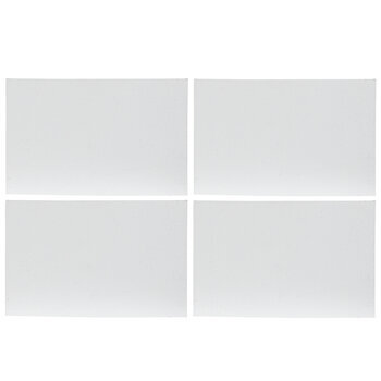 """Rectangle Magnetic Blank Canvas Set - 1 3/4"""" x 2 3/4"""""""