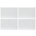 Rectangle Magnetic Blank Canvas Set - 1 3/4