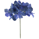 Dark Blue Hydrangea Pick