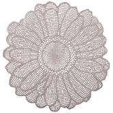 Blush Metallic Daisy Placemat