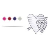 Hearts Suncatcher Kit