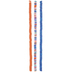 Orange & Blue Clay Disc Bead Strands