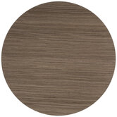 Wood Grain Plate Charger