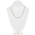 Delicate Curb Chain Necklace - 18