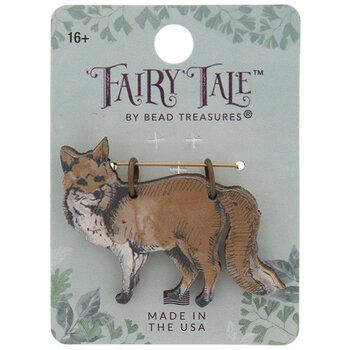 Fox Wood Pendant