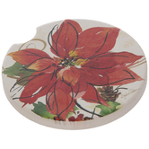 Poinsettia Car Coaster