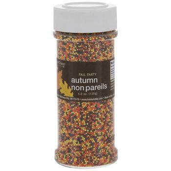 Autumn Nonpareil Sprinkles