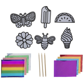 Springtime Icons Foil Art Craft Kit