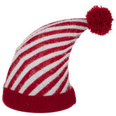 Red & White Striped Hat Tree Topper