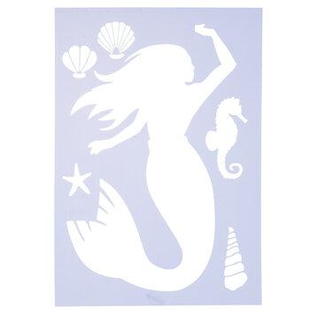 Mermaid Stencil