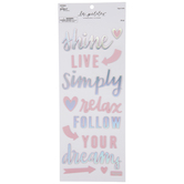 Follow Your Dreams Holographic Foil Stickers