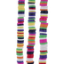 Multi-Color Clay Disc Bead Strands