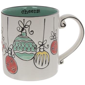 Cheers Vintage Ornaments Mug