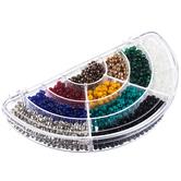 Rainbow Glass Bead Box