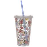 Flowers & Yarn Balls Cup
