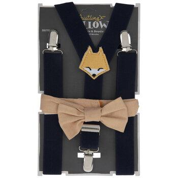 Fox Bow Tie & Suspenders