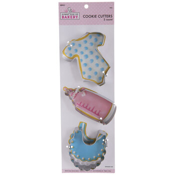 Baby Metal Cookie Cutters