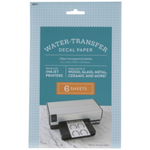 Water Transfer Decal Paper