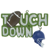 Touchdown Ornament