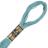 DMC Cotton Embroidery Floss - Blue Green