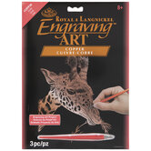 Giraffe Copper Foil Engraving Art Kit