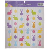 Pastel Bunny & Egg Hanging Decorations