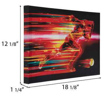 Flash High Gloss Canvas Wall Decor