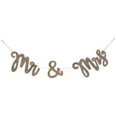 Mr & Mrs Wood Banner