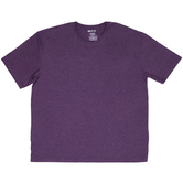 Heather Aubergine Adult Tri-Blend Crew T-Shirt - 2XL