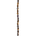 Bronze Luster Teardrop Glass Bead Strand