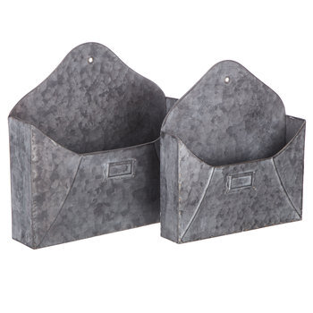 Envelope Metal Wall Container Set