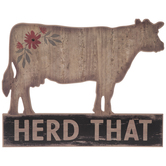 Cow Herd That Wood Wall Decor