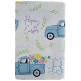 Happy Easter Truck Tablecloth