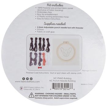 Bulldog Punch Needle Kit
