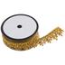 Gold Metallic Fan Edge Trim - 1