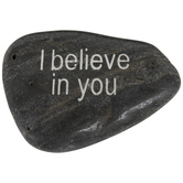 I Believe In You Garden Stone